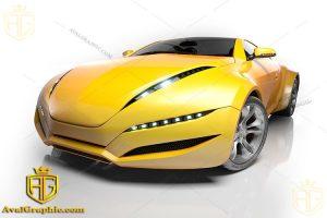 عکس ماشین زرد