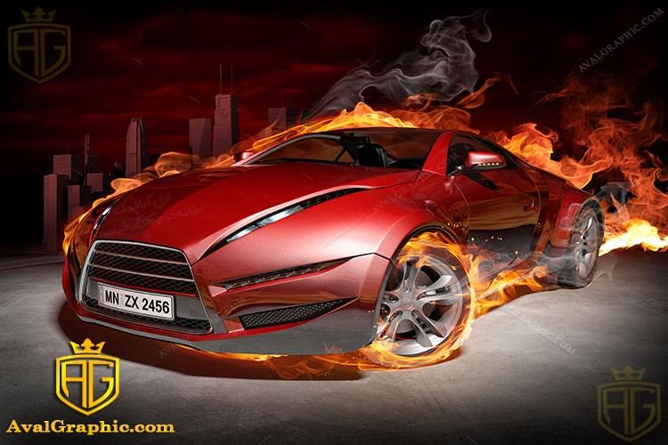 عکس ماشین آتشین