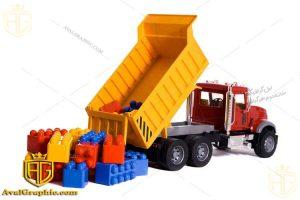 عکس کامیون اسباب بازی
