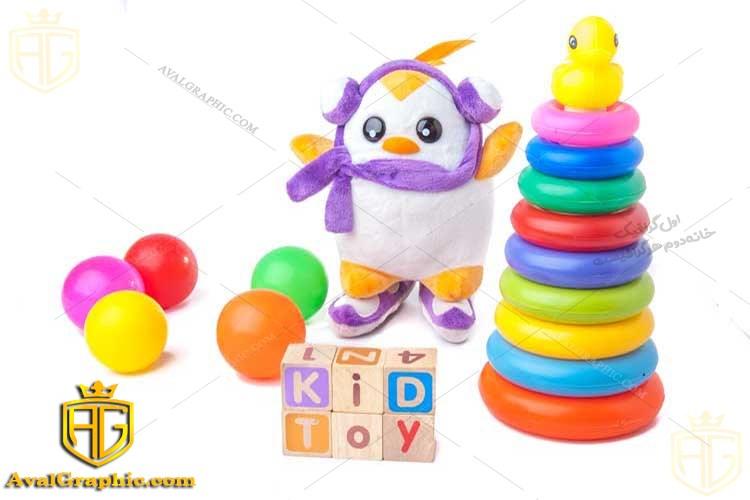 عکس اسباب بازی رنگی