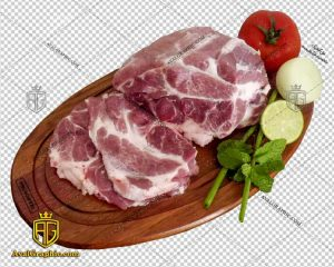png گوشت و دنبه