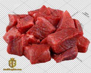 png گوشت مکعبی