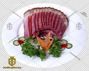 png گوشت ورقه ای