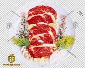 png گوشت اسلایش شده