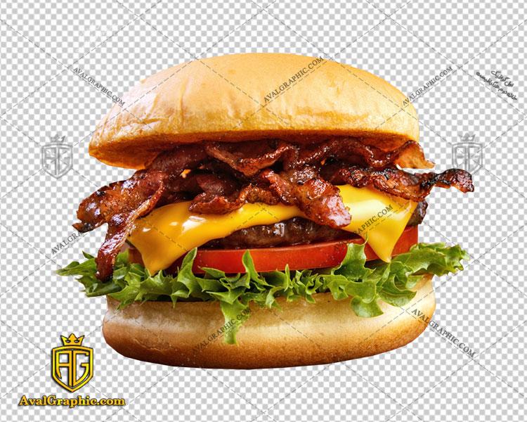 png همبرگر داغ