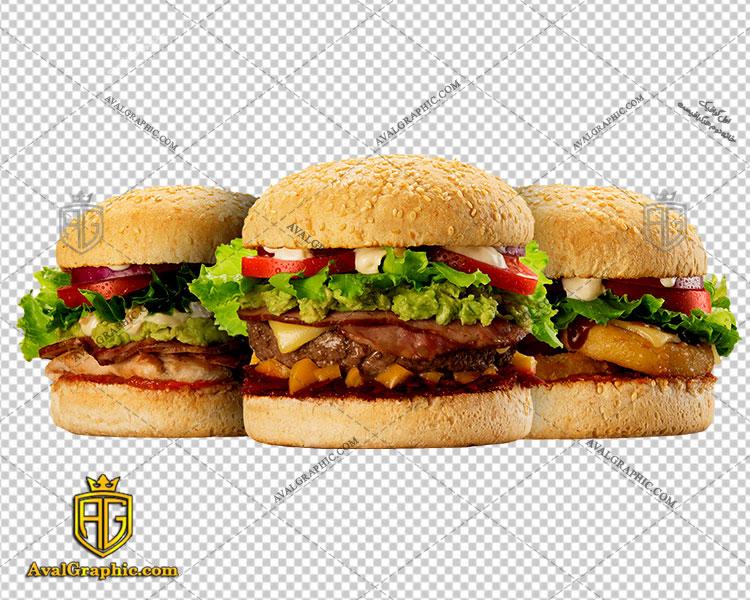 png ساندویچ همبرگر