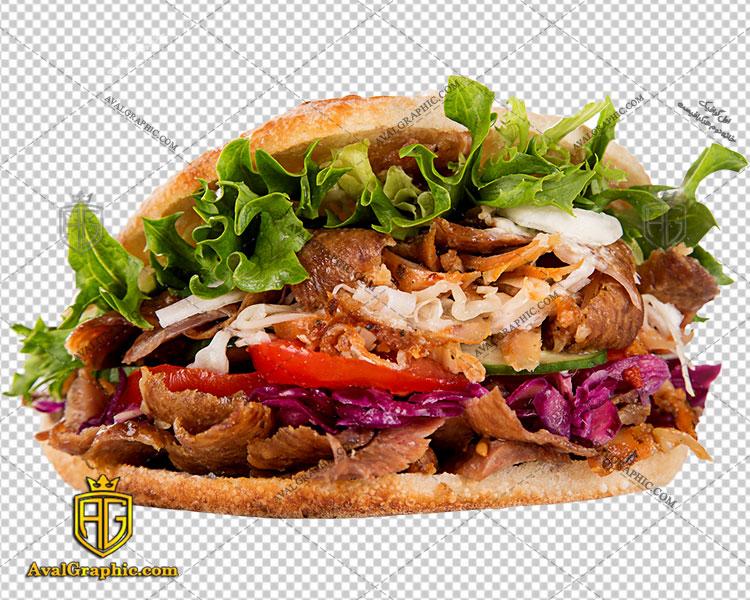 png همبرگر حجیم