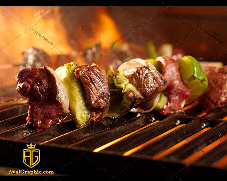 شاتر استوک کباب گوشت
