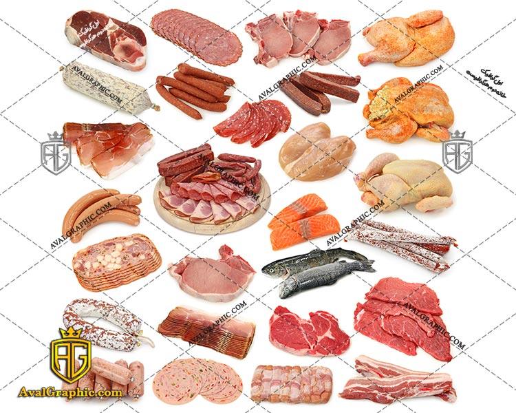 شاتراستوک رایگان انواع گوشت