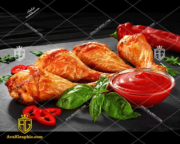 شاتراستوک مرغ سوخاری