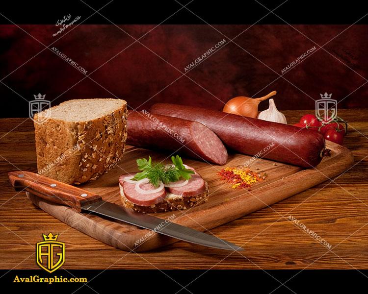 شاتر استوک رایگان سوسیس و نان