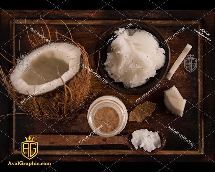 شاتراستوک پودر نارگیل تازه رایگان