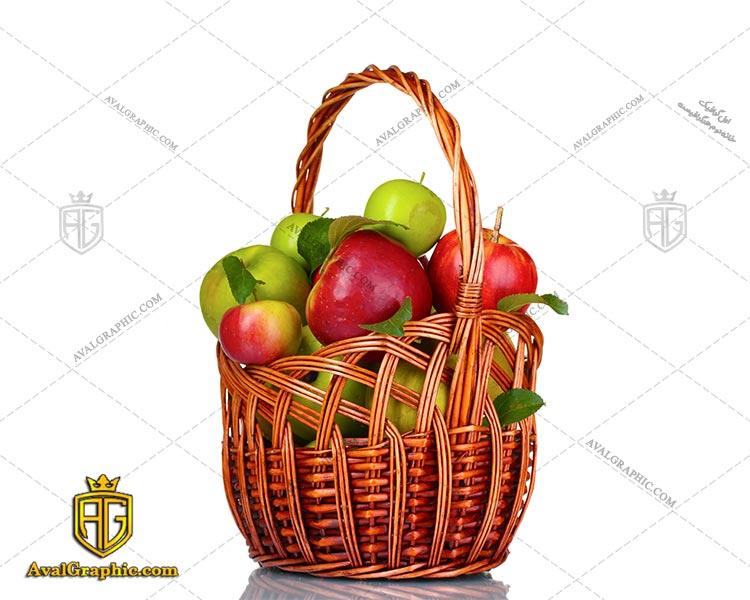 شاتراستوک سیب در سبد