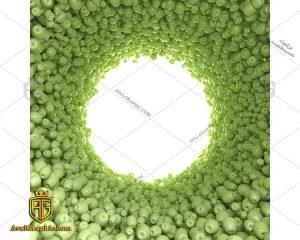 شاتراستوک سیب های سبز