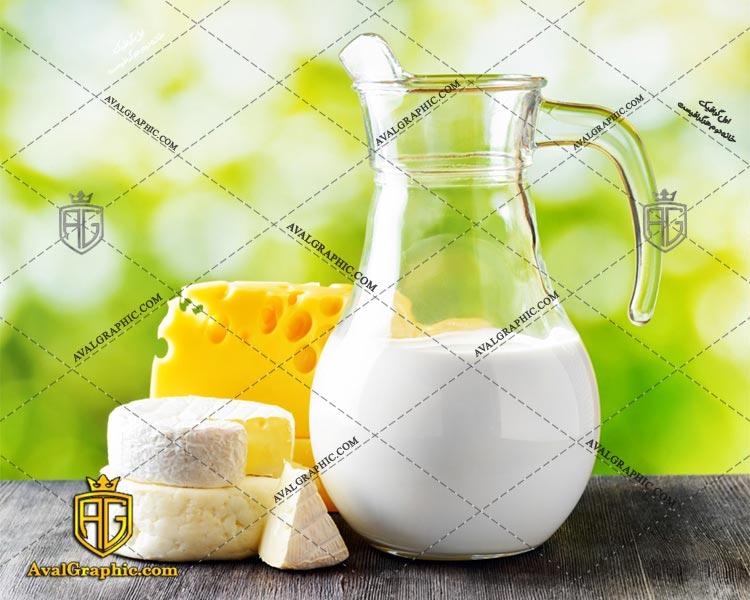 شاتراستوک شیر و پنیر رایگان