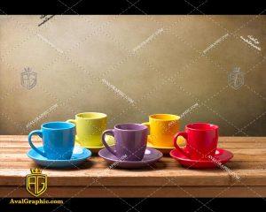 شاتراستوک فنجان رنگی