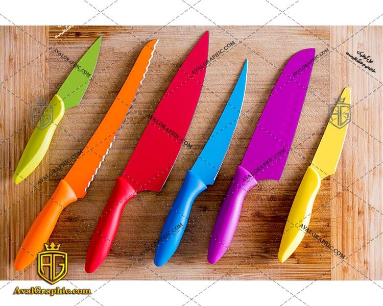 شاتراستوک چاقو رنگی