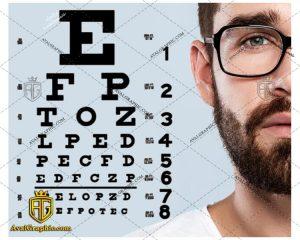 شاتراستوک عینک مردانه