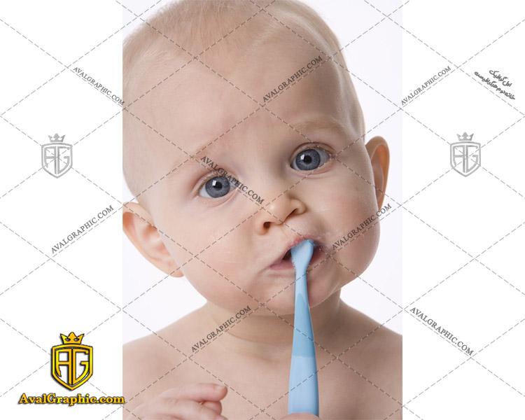 شاتراستوک مسواک زدن کودک