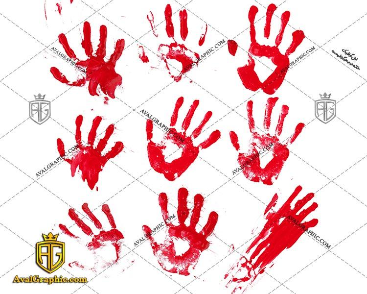 شاتراستوک دست خونی رایگان