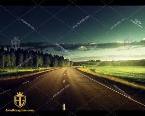 شاتراستوک جاده گندم زار رایگان