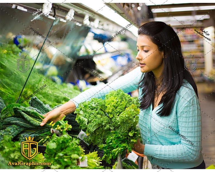 شاتراستوک خرید سبزی رایگان