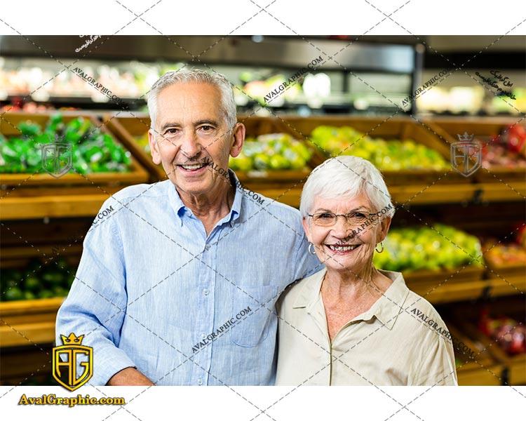 شاتراستوک خرید کردن مسن ها