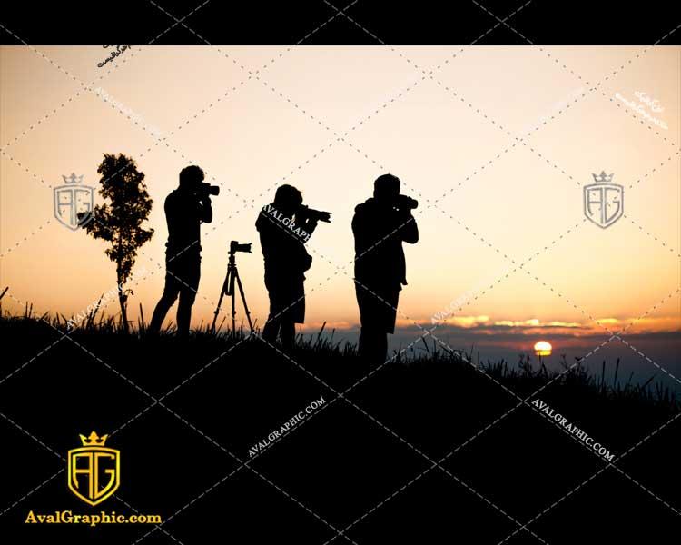 عکس با کیفیت عکاسان و غروب مناسب برای طراحی و چاپ - عکس عکاس - تصویر عکاس - شاتر استوک عکاس - شاتراستوک عکاس