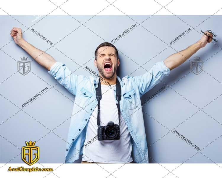 عکس با کیفیت عکاس هیجان زده مناسب برای طراحی و چاپ - عکس عکاس - تصویر عکاس - شاتر استوک عکاس - شاتراستوک عکاس