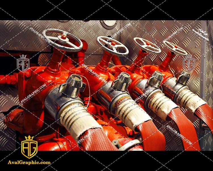 عکس با کیفیت شیر آتش نشانی مناسب برای طراحی و چاپ - عکس آتش - تصویر آتش - شاتر استوک آتش - شاتراستوک آتش