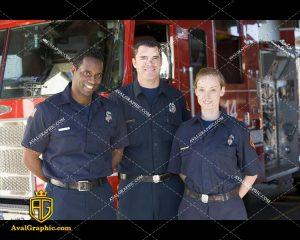 عکس با کیفیت سرپرست های آتش نشانی