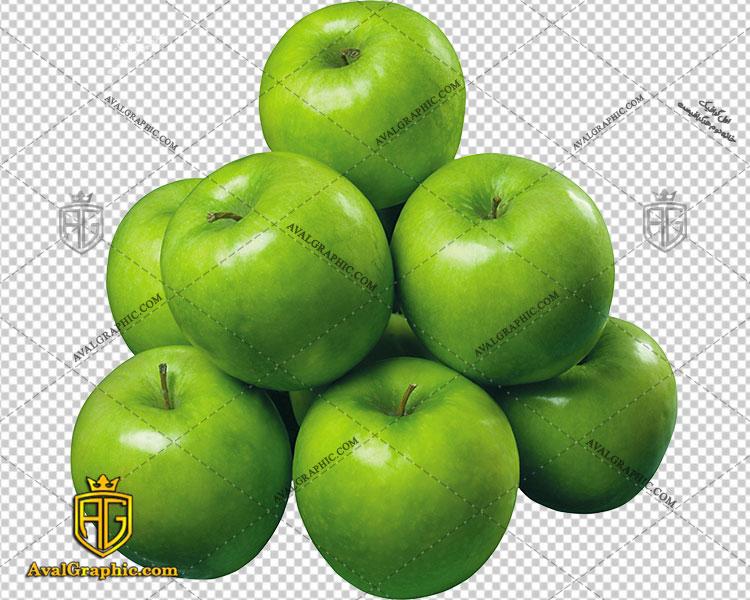 png سیب های سبز
