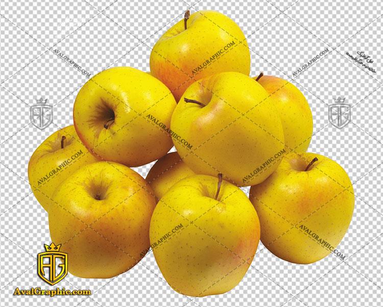 png سیب های زرد