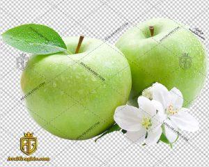 png سیب سبز