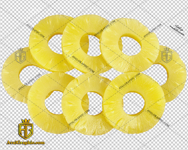 png آناناس خشک شده