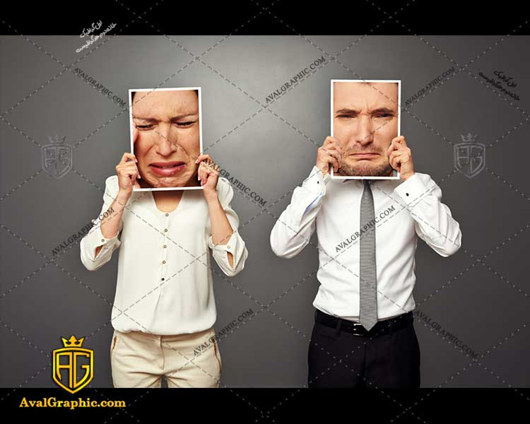 عکس با کیفیت تصویر غمگین مناسب برای طراحی و چاپ چهره خنده است - عکس چهره - تصویر چهره - شاتر استوک چهره - شاتراستوک چهره