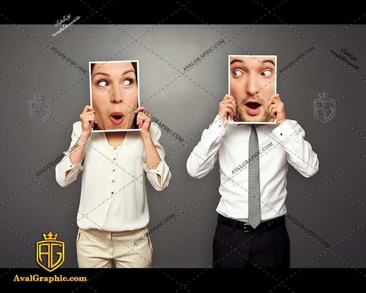 عکس با کیفیت چهره شگفت زده مناسب برای طراحی و چاپ چهره خنده است - عکس چهره - تصویر چهره - شاتر استوک چهره - شاتراستوک چهره