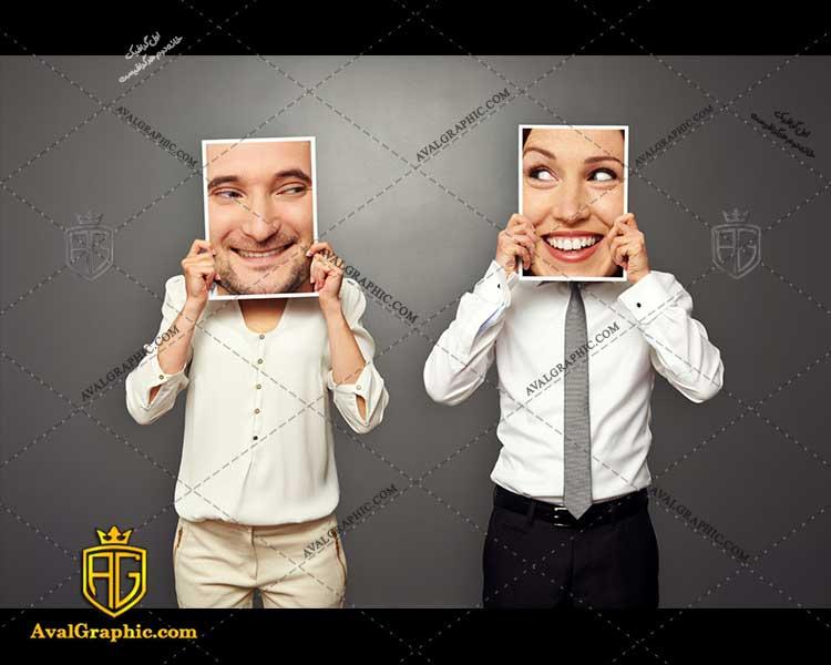 عکس با کیفیت چهره خوش خنده مناسب برای طراحی و چاپ چهره خنده است - عکس چهره - تصویر چهره - شاتر استوک چهره - شاتراستوک چهره