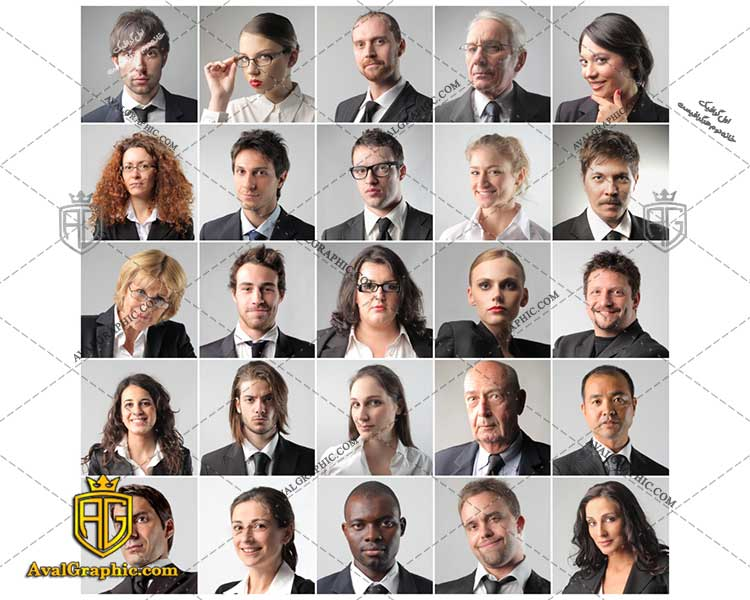 عکس با کیفیت چهره ساده مناسب برای طراحی و چاپ - عکس چهره - تصویر چهره - شاتر استوک چهره - شاتراستوک چهره