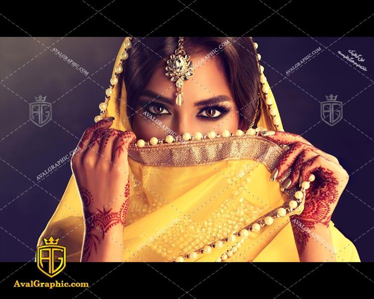 عکس با کیفیت زن هندی مناسب برای طراحی و چاپ می باشد - عکس زن - تصویر زن - شاتر استوک زن - شاتراستوک زن