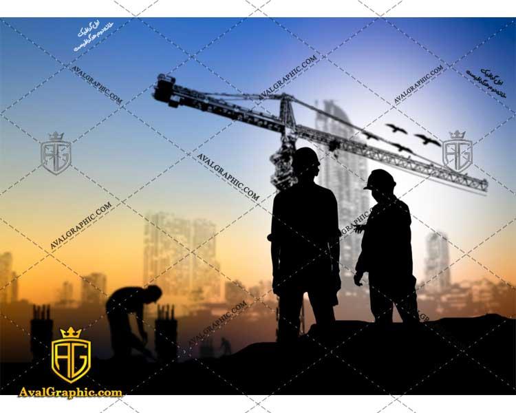 عکس با کیفیت جرثقیل و کارکنان ساختمان مناسب برای طراحی و چاپ - عکس ساختمان - تصویر ساختمان - شاتر استوک ساختمان - شاتراستوک ساختمان