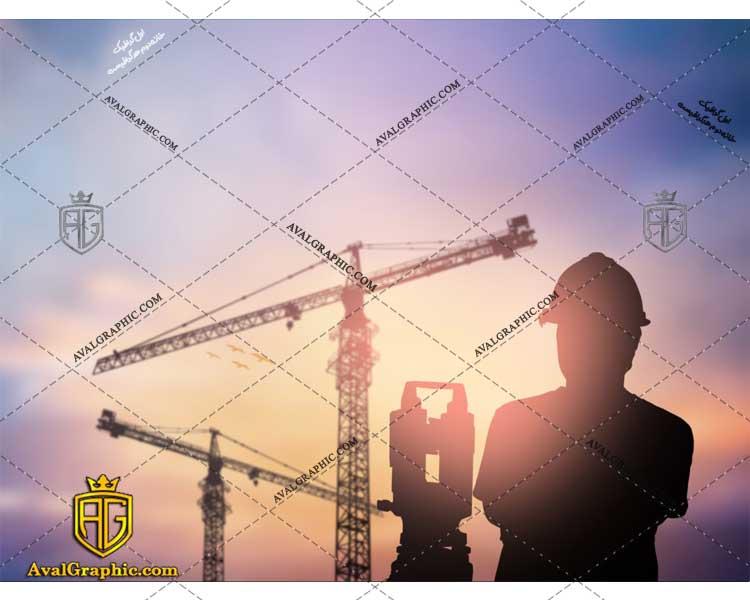 عکس با کیفیت جرثقیل و مهندس مناسب برای طراحی و چاپ - عکس مهندس - تصویر مهندس - شاتر استوک مهندس - شاتراستوک مهندس