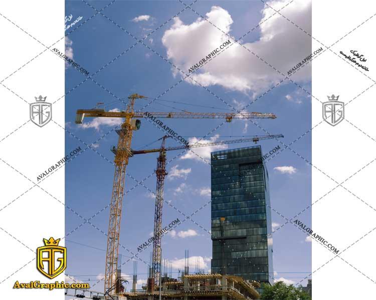 عکس با کیفیت جرثقیل های ساختمان مناسب برای طراحی و چاپ - عکس جرثقیل - تصویر جرثقیل - شاتر استوک جرثقیل - شاتراستوک جرثقیل