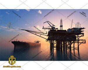 عکس با کیفیت کشتی نفتی مناسب برای طراحی و چاپ - عکس کشتی - تصویر کشتی - شاتر استوک کشتی - شاتراستوک کشتی
