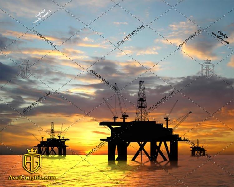 عکس اسکله های نفتی رایگان مناسب برای چاپ و طراحی با رزو 300 - شاتر استوک اسکله - عکس با کیفیت اسکله - تصویر اسکله - شاتراستوک اسکله