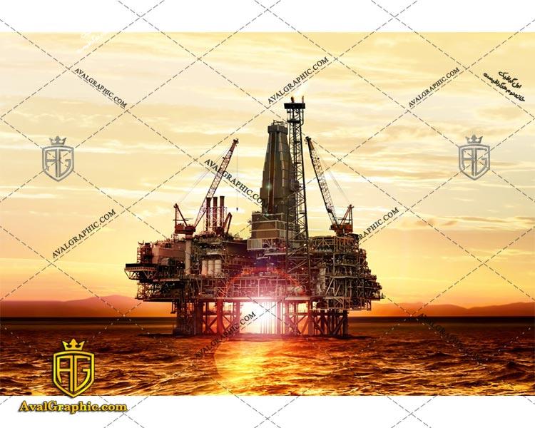 عکس با کیفیت اسکله نفت مناسب برای طراحی و چاپ - عکس اسکله - تصویر اسکله - شاتر استوک اسکله - شاتراستوک اسکله