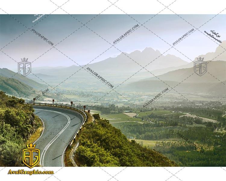 عکس جاده مارپیچ رایگان مناسب برای چاپ و طراحی با رزو 300 - شاتر استوک جاده - عکس با کیفیت جاده - تصویر جاده - شاتراستوک جاده