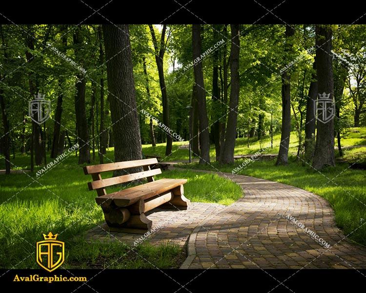 عکس نیمکت پارک رایگان مناسب برای چاپ و طراحی با رزو 300 - شاتر استوک نیمکت - عکس با کیفیت نیمکت - تصویر نیمکت - شاتراستوک نیمکت