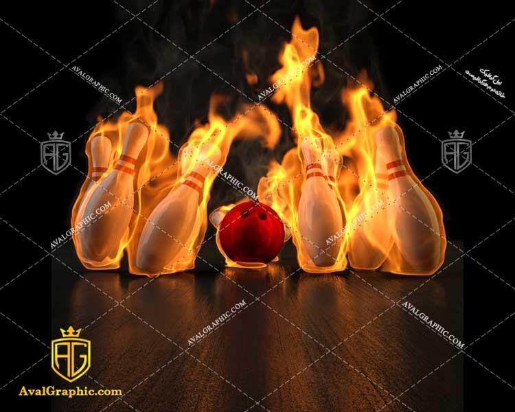 عکس با کیفیت بازی بولینگ مناسب برای طراحی و چاپ - عکس بولینگ - تصویر بولینگ - شاتر استوک بولینگ - شاتراستوک بولینگ