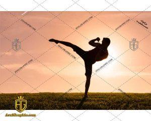 عکس کاراته رایگان مناسب برای چاپ و طراحی با رزو 300 - شاتر استوک کاراته - عکس با کیفیت کاراته - تصویر کاراته - شاتراستوک کاراته